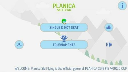 planica ski flying android igra 1